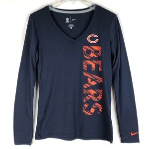 Nike NFL team apparel Chicago Bears long sleeve t